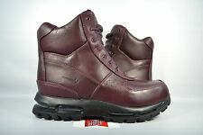 "NEW Nike Air Max Goadome 6"" WP DEEP BURGUNDY 806902-660 sz 9 BOOTS ACG WINTER"