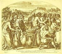 Abraham Melchizedek King Salem La Bible Nicolas Chaperon 1649 Raphael Vatican