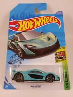 McLaren P1 - Metalflake Turquoise | HW Exotics 9/10 | Hot Wheels 149/250