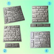 Set Molds Stone VENEER for Concrete Plaster. Mold Wall Stone Brick Tiles Cement