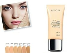 Avon Ideal Flawless Nude Matte Fluid Make-up Foundation ~ Medium Beige ~