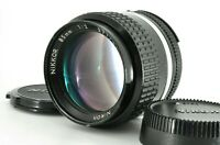 """ NEAR MINT "" Nikon Nikkor Ai 85mm f/2 Portrait MF Prime Lens w/Cap From JAPAN"
