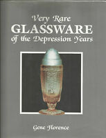 Very Rare Glassware of the Depression Years 1988 FN/+