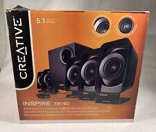 Creative Labs Inspire T6160 5.1 Multimedia Speaker System 50W - 6 pc Set