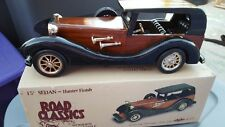 Road Classics Wooden Automobile Collectibles 15 Inch Sedan Hunter Finish