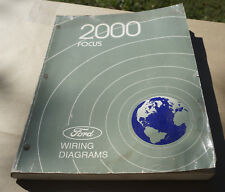 2000 Ford Focus EVTM Wiring Diagram Service Manual Book