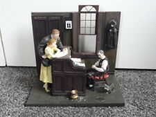 Norman Rockwell Marriage License Lg Figurine Scene - Sat Evening Post 1955 #208