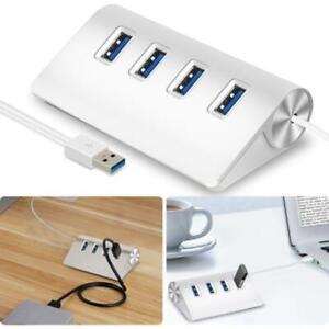 Aluminum 4-Port USB Hub