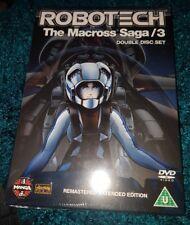 ROBOTECH THE MACROSS SAGA 3.DVD.NEW AND SEALED.