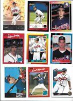 Atlanta Braves 1995 World Series Champs Team Lot (35) w/ Rookies Smoltz Glavine