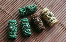 Dreadlock beads Macrame Ring Dread Beads Tribal Head Acessories