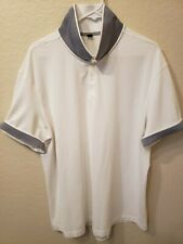 Lululemon Polo White Shirt. Gorgeous Design. Size Xxl. Excellent Condition.