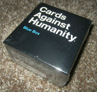Cards Against Humanity BLUE BOX Game Expansion (2016) BRAND NEW & FACTORY SEALED