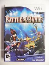 Jeu BATTLE OF THE BANDS sur nintendo WII en francais spiel juego gioco spel PAL