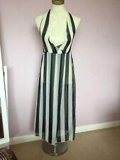 Chiffon Summer/Beach Striped Sundresses for Women