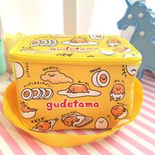 Gudetama egg yellow keep warm square lunch bag handbag anime bags cute