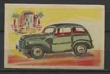 Fiat Stationcar 1953 Vintage 1950s Dutch Trading Card No.23
