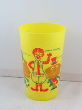 Vintage McDonald's Glass  - Featuring the Entire Mcdonald's Gang - 1970s Promo