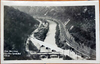 1930s Realphoto Postcard: Cumberland, Maryland MD - The Narrows, US 40