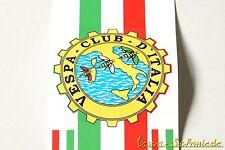 "Banner Beinschild ""Vespa Club d'Italia"" - V50 PK Italy Italien Aufkleber Dekor"