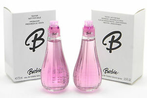2 x Barbie Eau De Toilette EDT Spray for Girls 2.5oz 75ml New Unboxed