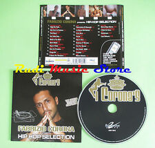 CD CORONA HIP HOP SELECTION compilation FABRI FIBRA MONDO MARCIO CLUB DOGO (C22)