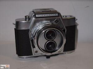 Agfa Flexilette 2-äugige Miniature Camera Lens Apotar 2,8/45 MM - Vintage