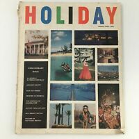VTG Holiday Magazine March 1960 Alabama Fresh Portrait Cover Feature, Newsstand