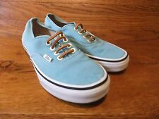Vans Authentic Turquoise Canvas Casual Trainers Size UK 5 EUR 38