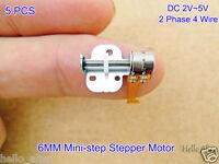 5PCS DC3V-5V 2 Phase 4 Wire Stepping Stepper Motor Linear Screw Slider Block