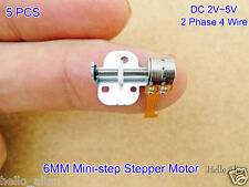 5PCS DC2-5V 2 Phase 4 Wire Step Stepping Stepper Motor Linear Screw Slider Block