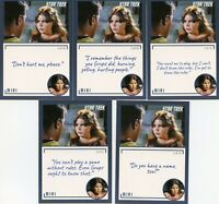 Star Trek TOS Archives & Inscriptions card # 24 Miri all 10 different Variations