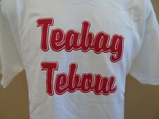 ALABAMA CRIMSON TIDE TEABAG TEBOW RIVALRY TSHIRT COLLEGE SEC