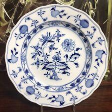 Meissen Onion Pattern, Antique Dining Plate Ø 25cm I.Choice Knauff-Era