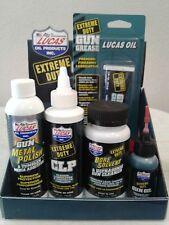 LUCAS EXTREME DUTY GUN OIL CLP METAL POLISH  BORE SOLVENT GREASE USA