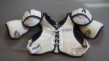 Used Bauer S860 Pro Stock Ice Hockey Shoulder Pads Size Large Flyers! MeiGray
