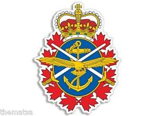"""CANADA MILITARY CANADIAN FORCES 6"""" BUMPER STICKER DECAL MADE IN USA"""
