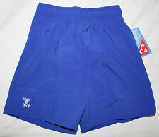 Tyr Boys Youth Kids Size 4 Royal Blue Casual Exercise Swim Shorts Trunks New