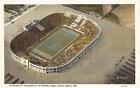 Postcard Stadium of University of Notre Dame in South Bend, Indiana~125327