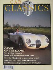 Car Classics 07/1992 No 5 featuring McLaren F1, Ferrari, Jaguar C-type, Citroen
