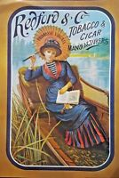 Antique Vintage Advertising Posters Redford Tobacco Breweriania Collectable