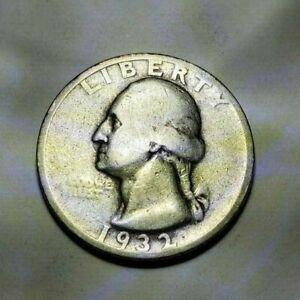 1932 Quarter, Silver