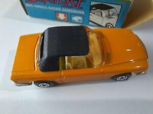 Matchbox Lesney Superfast. Mercedes 350SL Number 6. Vintage MBX With Box.