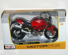 Maisto - DUCATI MONSTER 696 (Red) - Motorcycle Model Scale 1:12