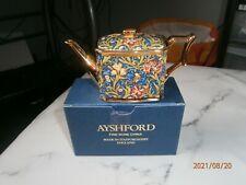 More details for ayshford miniature bone china miniature teapot