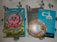 Kirby And The Rainbow Paintbrush Nintendo Wii U Game Boxed - UK PAL VG CONDITION