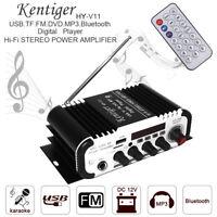 Mini Stereo Amplifier Bluetooth Power Amp FM AUX USB FM SD MP3 Digital Player