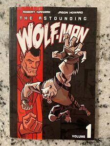 The Astounding Wolf-Man Vol. # 1 Image Comics TPB Graphic Novel Comic Book J587