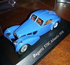 Voiture 1/43  altaya Voitures Classiques Bugatti 57sc Atlantic 1938. 6+ fascicul