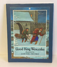 Good King Wenceslas by J. M. Neale Hardcover Book Christmas Story Children's NEW